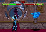 Mortal Kombat II SEGA Saturn Frozen in mid-air