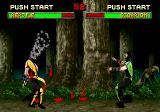 Mortal Kombat II SEGA Saturn Acid and spear hit at the same time.