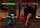 Mortal Kombat II SEGA Saturn Hat toss.