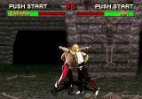Mortal Kombat II SEGA Saturn You have to stand farther apart to land a punch.