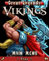 Great Legends: Vikings J2ME Main menu