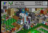 SimCity 2000 SEGA Saturn Hurricane coming