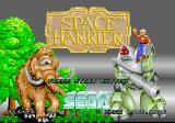 Space Harrier SEGA Saturn Title