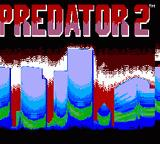 Predator 2 Game Gear Title screen