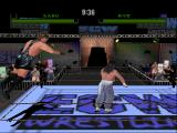 ECW Hardcore Revolution Nintendo 64 RVD jumping from the barbed wire.