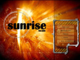Sunrise: The Game Windows Main menu (demo version)