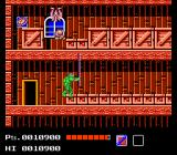 Teenage Mutant Ninja Turtles NES Here is Donatello. Look at the distance his bo can reach. All turtles weapons behave differently.