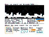 Star Trader TRS-80 CoCo My ship has sustained damage and needs to be repaired