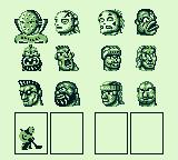 Hit the Ice: The Video Hockey League Game Boy Choose your players
