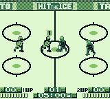 Hit the Ice: The Video Hockey League Game Boy The face off
