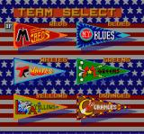 Hit the Ice: The Video Hockey League SNES Select your team