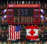 Hit the Ice: The Video Hockey League SNES 1st period