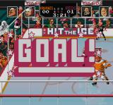 Hit the Ice: The Video Hockey League SNES GOAL!
