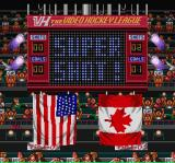Hit the Ice: The Video Hockey League SNES It was a super shot goal.