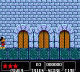 Castle of Illusion starring Mickey Mouse Game Gear Door Select