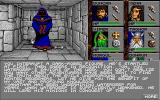 Eye of the Beholder Amiga We have interrupted a dark-robed figure...