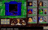 Eye of the Beholder Amiga We have activated the magical portal with the stone scepter.