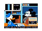 Donald Duck's Playground TRS-80 CoCo You can visit Mickey to buy some stuff for your playground