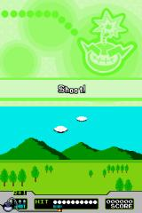 WarioWare: Touched! Nintendo DS Shoot