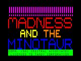 Madness & the Minotaur TRS-80 CoCo Loading screen