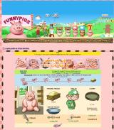 Funnypigs Browser A brand new pig. All is well for the next three hours.