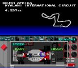 F1 Pole Position SNES Tuning the steering