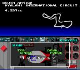 F1 Pole Position SNES Adjusting the vehicles wings