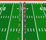 Football Fury SNES The teams take to the field