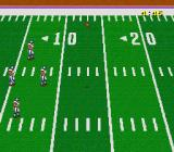 Football Fury SNES Receiving the ball