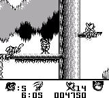 Tarzan: Lord of the Jungle Game Boy As you take damage, the fruit on the lower right is eaten away
