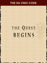 The Da Vinci Code: The Quest Begins J2ME Title screen