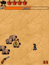 Great Legends: Billy the Kid II J2ME The second boss is an indian riding a buffalo