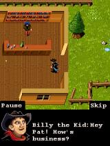 Great Legends: Billy the Kid II J2ME Entering the saloon