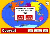Copycat Browser Your standard congratulations/losing screen