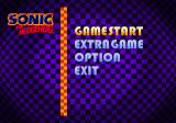 Sonic Jam SEGA Saturn Sonic The Hedgehog Game Menu