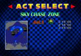 Sonic Jam SEGA Saturn Time Attack Menu