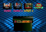 Sonic Jam SEGA Saturn Sonic & Knuckles Lock on Menu