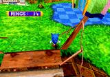 Sonic Jam SEGA Saturn Sonic running off a bridge