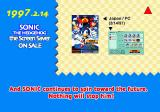 Sonic Jam SEGA Saturn Hall of Fame