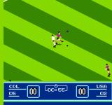 Goal! Two NES Kicking the ball