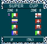 Goal! Two NES Super Cup team divisions