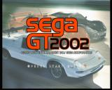 Sega GT 2002 Xbox Main Title (first menu)
