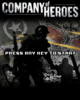 Company of Heroes J2ME Title screen