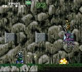 GunForce SNES Enemies with jetpacks