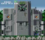 GunForce SNES A boss