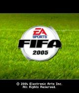 FIFA Soccer 2005 N-Gage Initial Screen