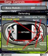FIFA Soccer 2005 N-Gage Defense Controls