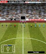 FIFA Soccer 2005 N-Gage Captains handshaking