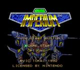 Imperium SNES Title screen