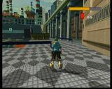 JSRF: Jet Set Radio Future Xbox This game presents a well combined mixture of 3d settings with 2d looking characters that move accordingly with the 3d surroundings.